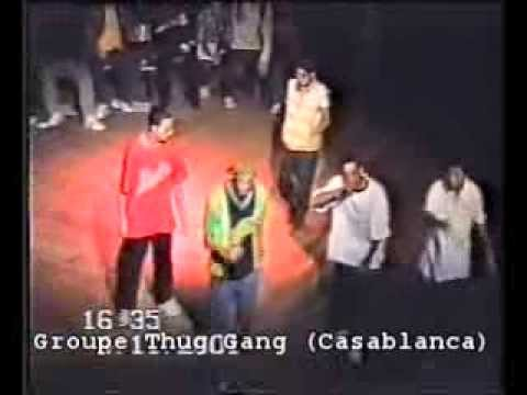 Rap marocain (archives): groupe Thug Gang 2001 partie 1
