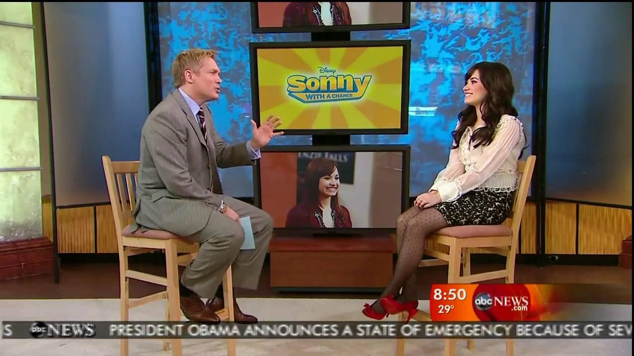 Good Morning America Intruder Interview : Demi lovato interview on good morning america hd youtube