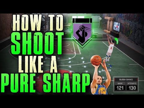 HOW TO SHOOT LIKE A PURE SHARPSHOOTER IN NBA 2K18 WITH ANY ARCHETYPE (GREEN GLITCH JUMPSHOTS)