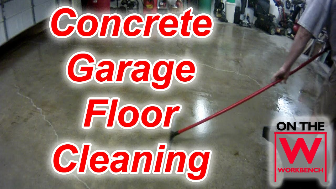 Degreasing A Concrete Garage Floor