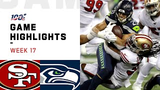 Download 49ers vs. Seahawks Week 17 Highlights | NFL 2019 Mp3 and Videos