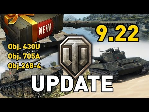 World of Tanks || Update 9.22 Preview