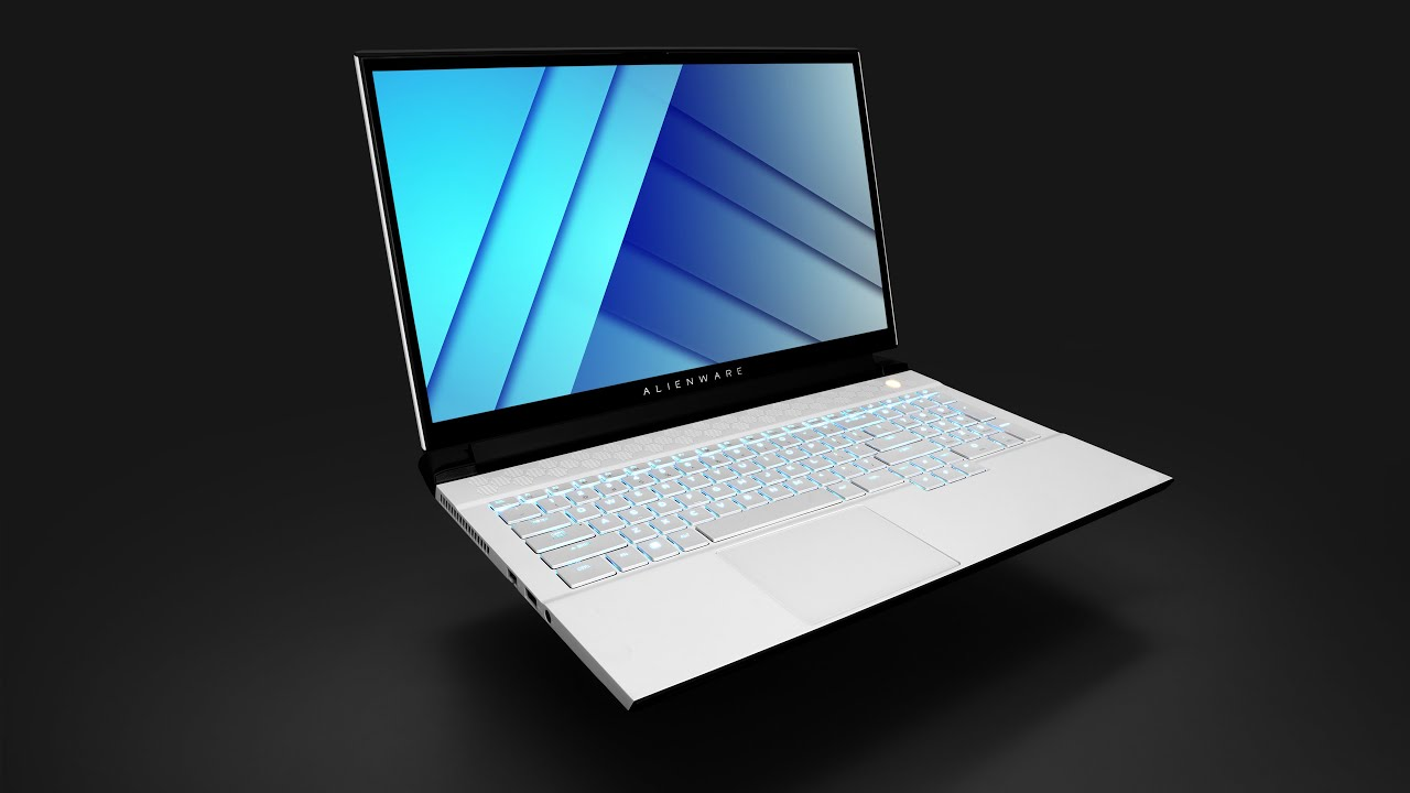 The MECHANICAL Alienware Laptop!
