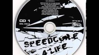 Gambar cover Speedcore 4 Life Vol.2 - CD 1 (mixed by DJ R.Shock)