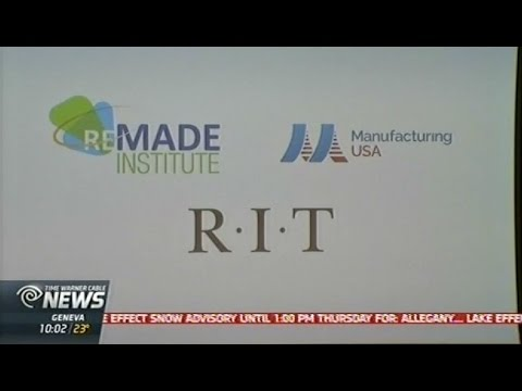 RIT on TV: REMADE Institute for Sustainable Manufacturing