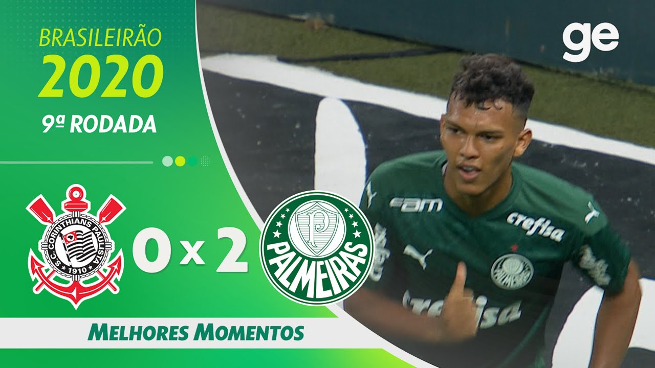 Corinthians 0 X 2 Palmeiras Melhores Momentos 9ª Rodada Brasileirao 2020 Ge Globo Youtube