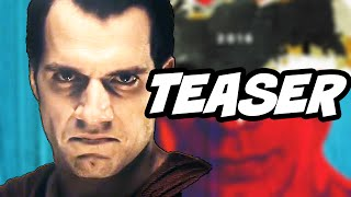 Batman v Superman Official Teaser Trailer Breakdown and Easter Eggs