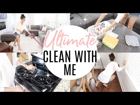 ULTIMATE CLEAN WITH ME 2019 // EXTREME CLEANING MOTIVATION // ALL DAY CLEAN WITH ME