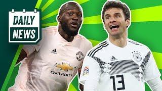 United schlägt PSG! AS Rom fliegt raus! Thomas Müller vs. Jogi Löw! Mourinho zurück zu Real?