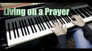 Living on a prayer - BON JOVI - Piano Cover by ear by Fabrizio Spaggiari Rock all over the World !!!