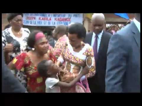 Olive Lembe Kabila parraine le mariage civil de plus de 600 couples de militaires au Bas,Congo