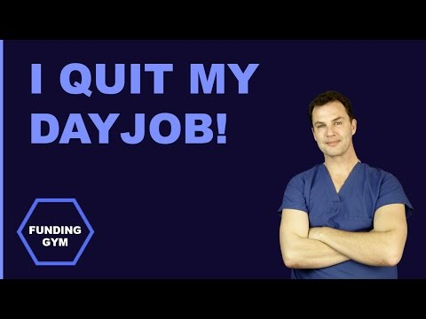 I QUIT MY DAY JOB! [Business Vlog] - Funding Gym