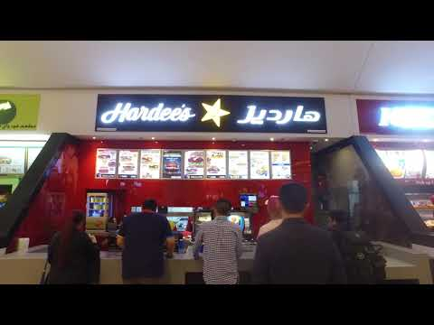 Emirates Mall Food Court 2017 - DJI Osmo