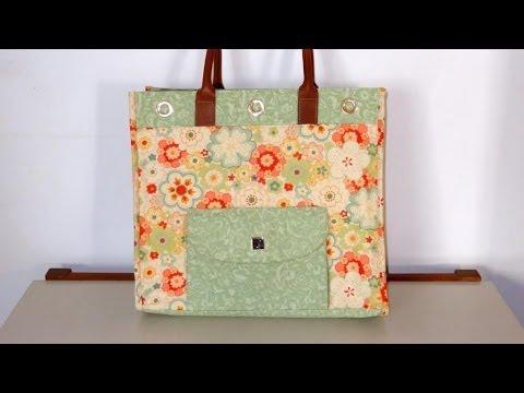 a327cf186 Bolsa de tecido Perla. How to do a fabric bag. DIY fabric bag. Make a  fabric bag. Fabric bags