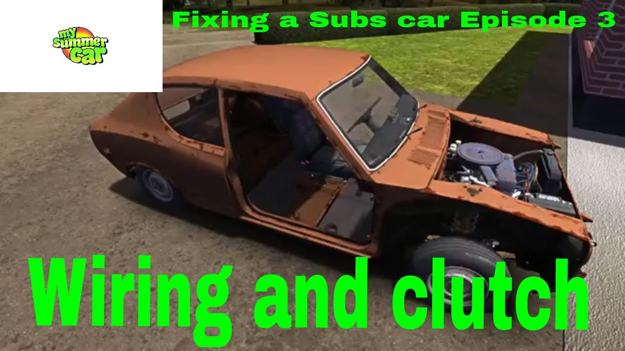 how to fix starter in my summer car