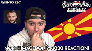 Vasil - YOU Reaction - Eurovision 2020 (North Macedonia) - Quinto ESC
