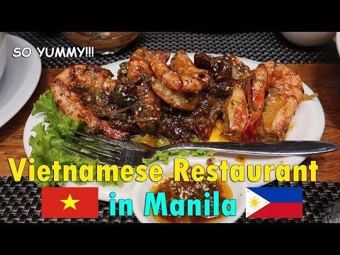 My Favourite VIETNAMESE RESTAURANT in Manila | June 16th, 2017 | Vlog #142