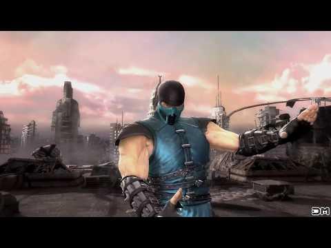 Mortal Kombat IX Scorpion & Sub Zero Costume 2 Performs All Character Intros 4k UHD 2160p