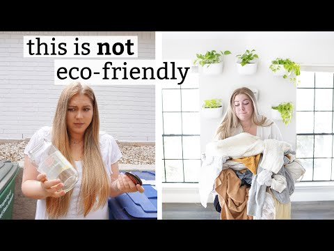 things you THOUGHT were sustainable but actually are NOT