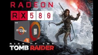 RX 580 4gb Ryzen 5 2600 - Rise of the Tomb Raider