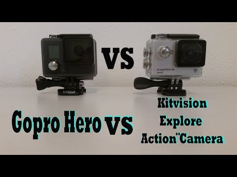 Gopro Hero VS Kitvision Explore Action Camera