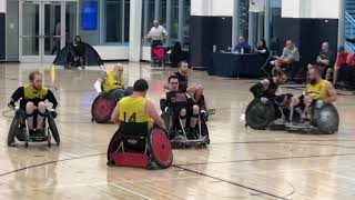 PVA Code of Honor Wheelchair Rugby Tournament.