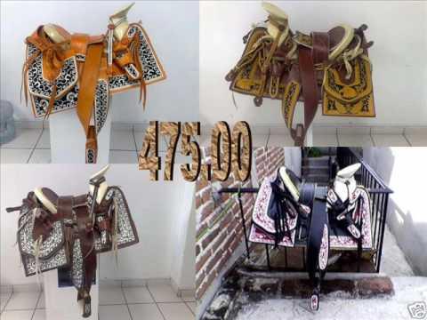 Monturas charras de venta en USA Custom Mexican saddles