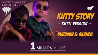 Cover images Kutti Story Video | Dhruvan | Skanda | Kids Version | Master | Ilayathalapathy Vijay | Anirudh