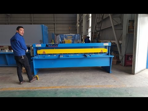 Small electric shearing machine Electrical shearing machine, metal sheet cutting machine KRRASS