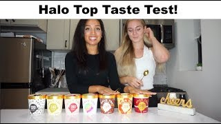 Healthy Ice Cream!! Halo Top Taste Test/Review