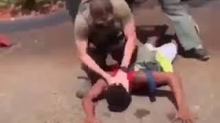 Young Black Teen's Head Banged Into Concrete In Violent Police Takedown