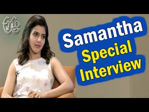 Heroine Samantha Special Interview | A Aa Movie | Nithin, Samatha, Anupama | NTV