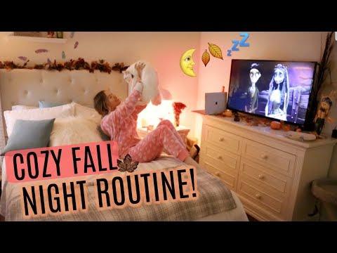 MY COZY FALL NIGHT ROUTINE 🍂