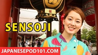 The Oldest Temple in Tokyo: Senso-ji! Japanese Traditions - Risa's Vlog