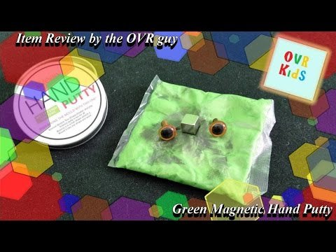 Item review - Green Magnetic Hand Putty