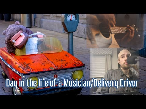Day in the life of a Fiverr Musician/Delivery Driver!!!