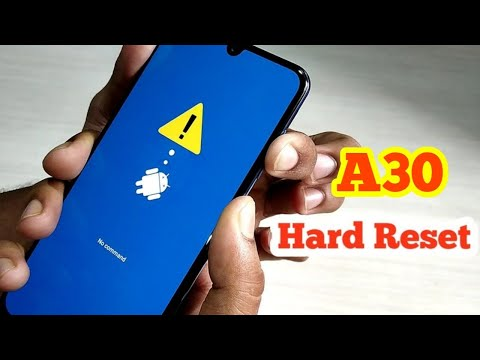 Samsung Galaxy A30 Hard Reset & Unlock Pattern|| 100% Working