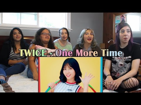 """TWICE - """"One More Time"""" Japanese MV Reaction"""
