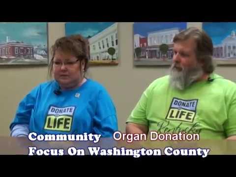 Community Focus on Washington County and Organ Donation 5 2016