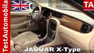 видео Jaguar X-Type
