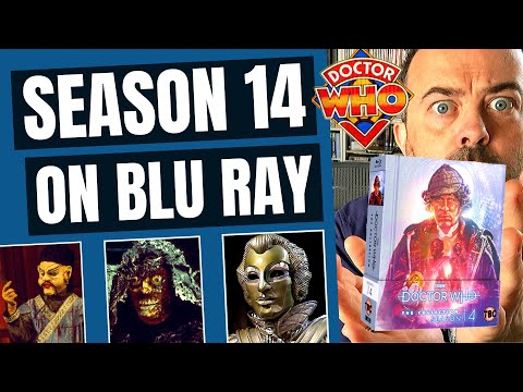 Doctor Who The Collection Season 14 News! Doctor Who Season 14 Blu Ray Artwork And Special Features