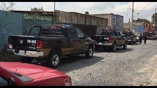 Intensa movilización policiaca en la colonia El Vergel de Tlaquepaque