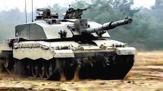 British Army - Challenger 2 Main Battle Tank [720p]