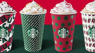 Starbucks releases new holiday cups