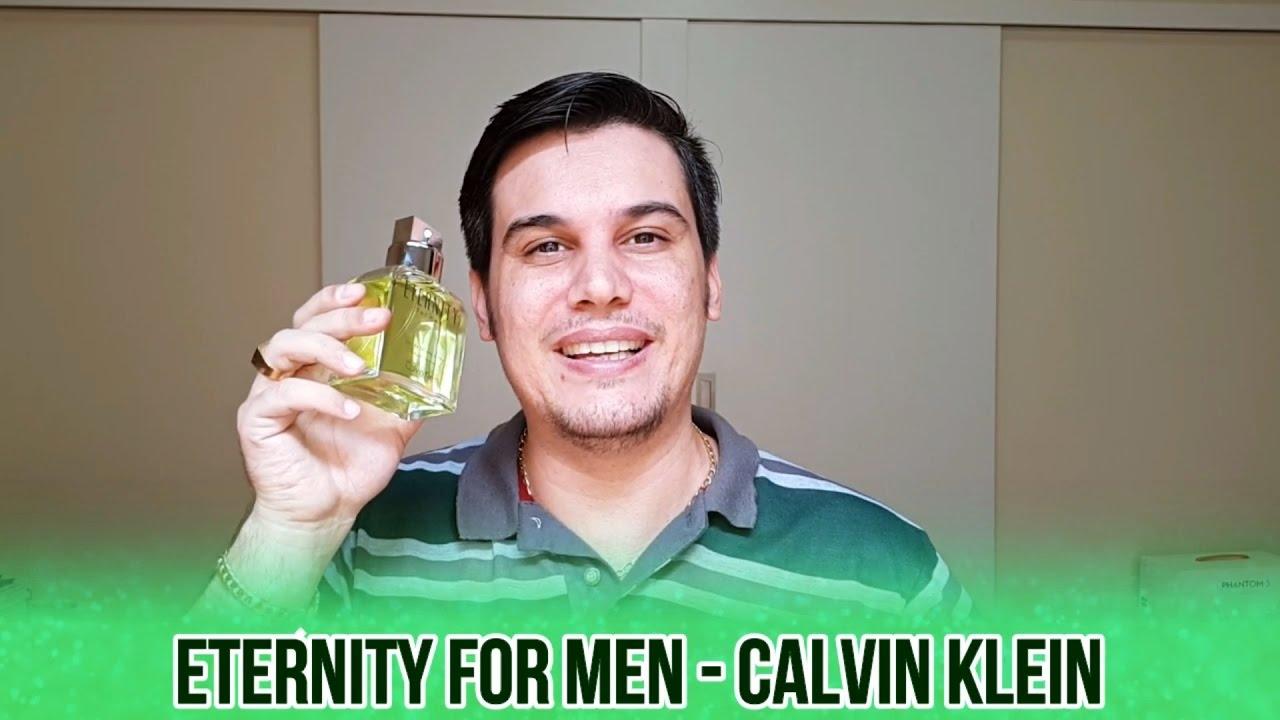 Resenha Do Perfume Eternity For Men Da Calvin Klein Youtube