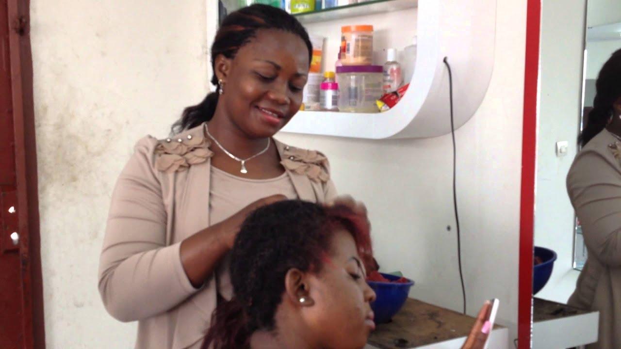 Salon de coiffure mamy kinshasa youtube - Salon de coiffure vip ...