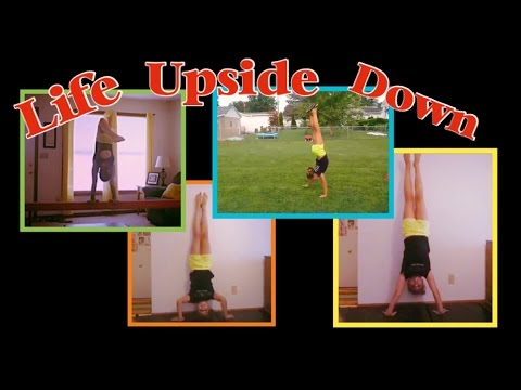 UpSiDe DoWn! • Crazy LONG Handstand on BEAM • 67' Handstand WALK! | Love My Life x4