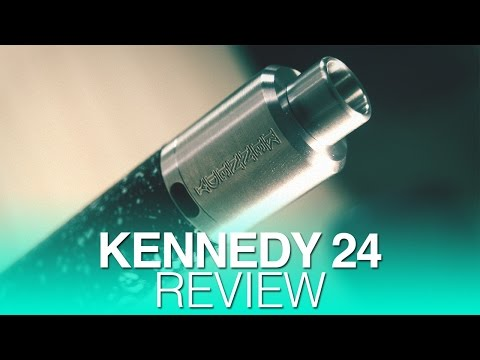 Daily Vape TV- Kennedy 24mm Review