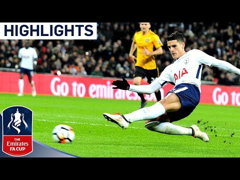 Tottenham 2-0 Newport | Lamela Scores His 1st Goal Since 2016 | Emirates FA Cup 2017/18