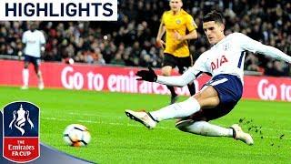 Tottenham 2-0 Newport   Lamela Scores His 1st Goal Since 2016   Emirates FA Cup 2017/18